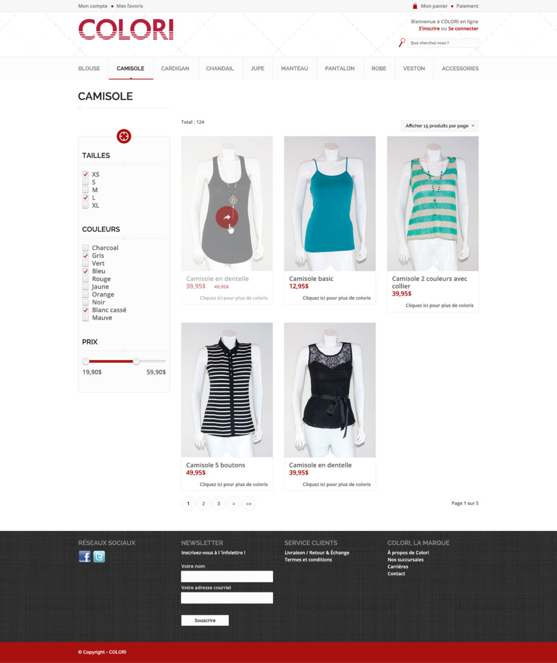colori e-commerce