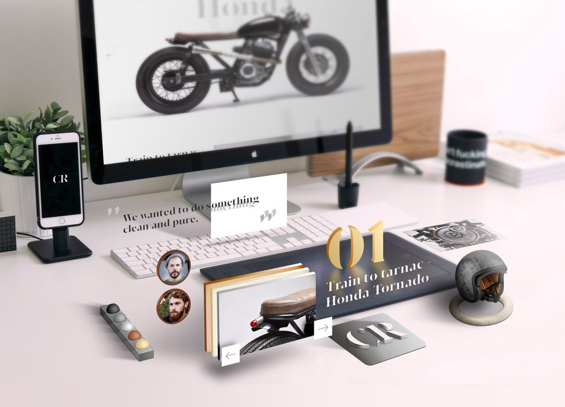 AR project moto Honda